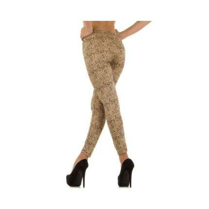 Damen Leggings Gr. one size - beige
