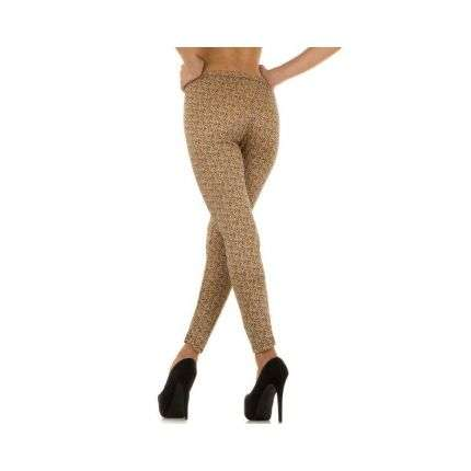 Damen Leggings Gr. one size - beige²