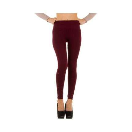 Damen Leggings Gr. one size - DK.red
