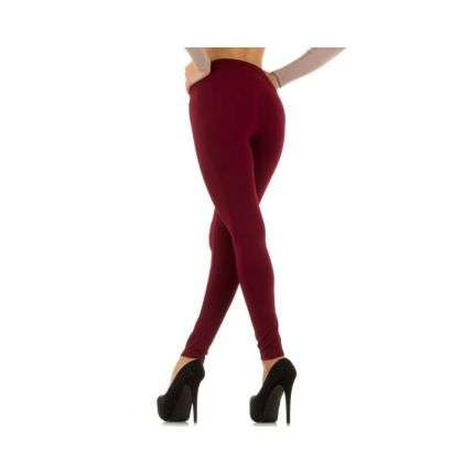 Damen Leggings Gr. one size - DK.red²
