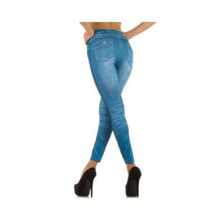 Damen Leggings Gr. one size - blue