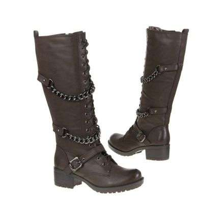 Damen Boots-Stiefel^ - brown²