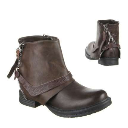 Damen Stiefeletten - brown