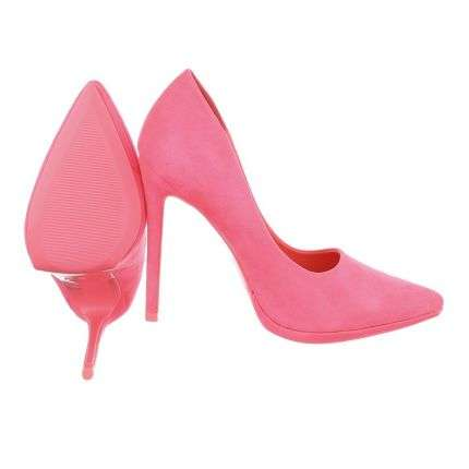 Damen High Heels - fuchsia