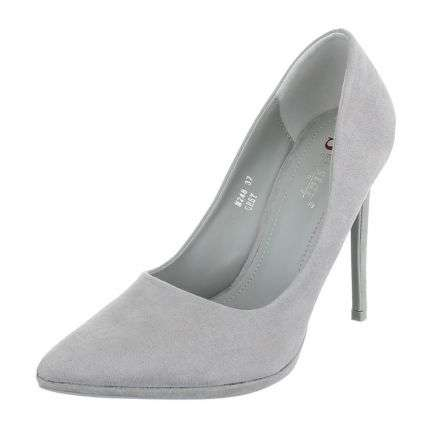 Damen High Heels - grey