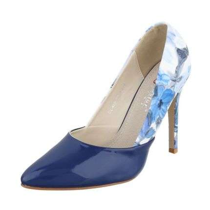 Damen High Heels - navy