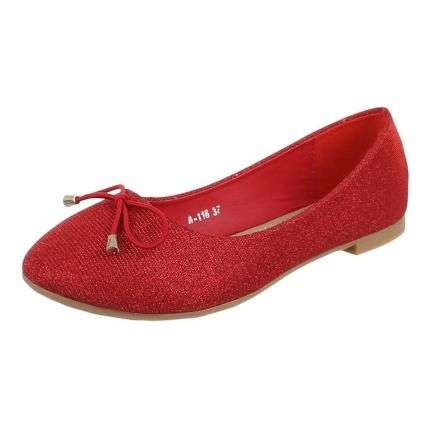Damen Ballerinas - red