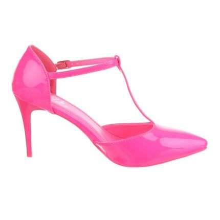 Damen Pumps - fuchsia