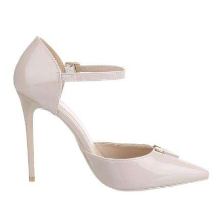 Damen High Heels - beige