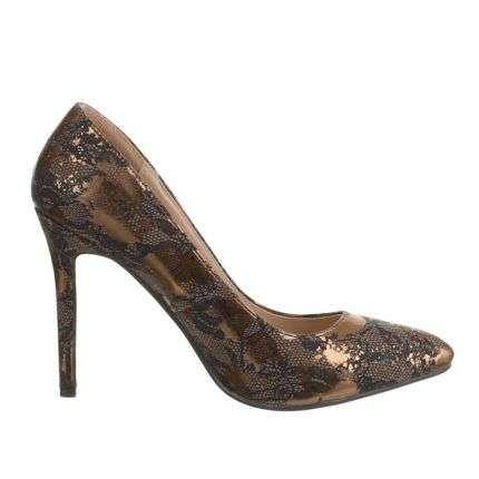 Damen High Heels - gold