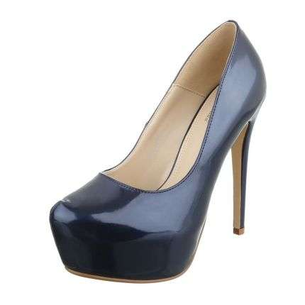 Damen High Heels - blue