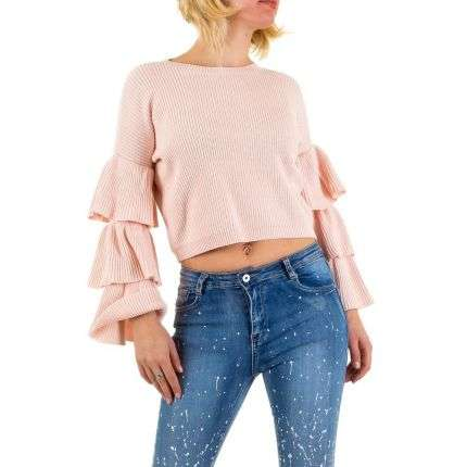 Damen Pullover Gr. one size - rose