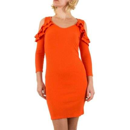 Damen Kleid - orange