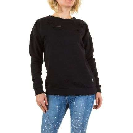Damen Sweatshirt von Sixth June Parisiennes - blac