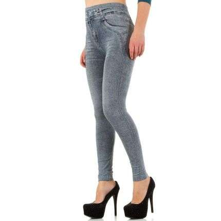 Damen Leggings von Best Fashion Gr. one size - grey