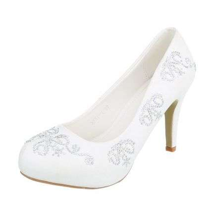 Damen High Heels - white