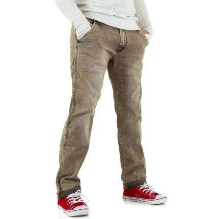 Herren Jeans von One Two Jeans - beige