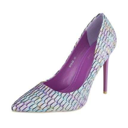 Damen High Heels - purple
