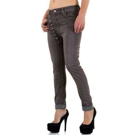 Damen Jeans von Mozzaar - brown