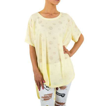 Damen Tunika Gr. one size - yellow