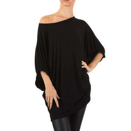Damen Tunika Gr. one size - black