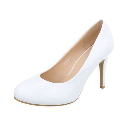 Damen High Heels Pumps - white
