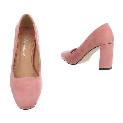 Damen High Heels Pumps - pink