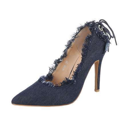 Damen High Heels Pumps - blue
