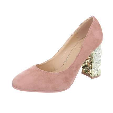Damen High Heels Pumps - D.pink