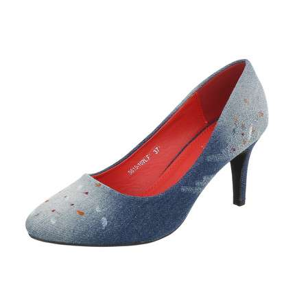 Damen High Heels Pumps - LT.blue