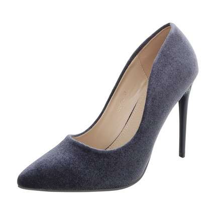 Damen High Heels Pumps - grey
