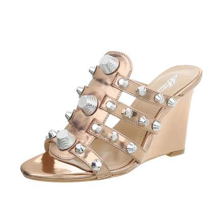 Damen Wedges - champagne