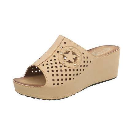 Damen Wedges - cream