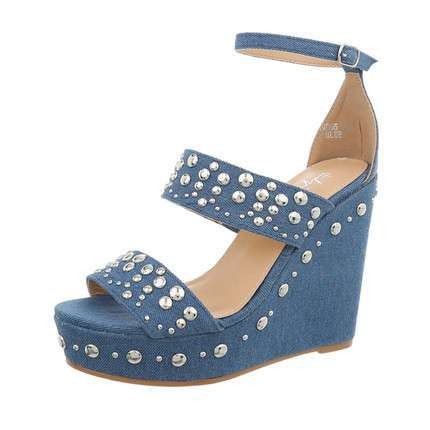 Damen Wedges - blue