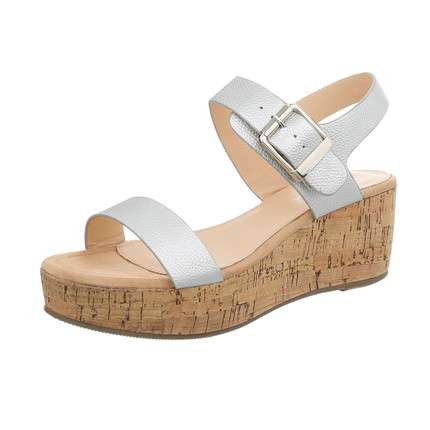Damen Wedges - silveg