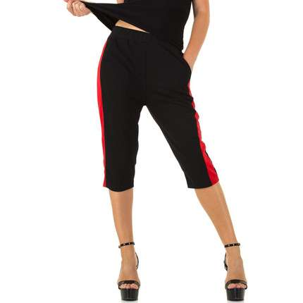 Damen Hose von Holala - blackred