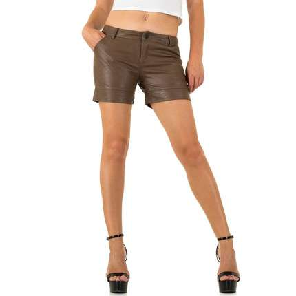 Damen Shorts - brown