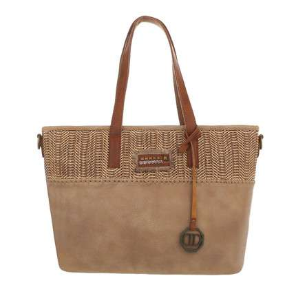Damen Shopper-apricot