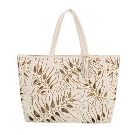 Damen Shopper-white