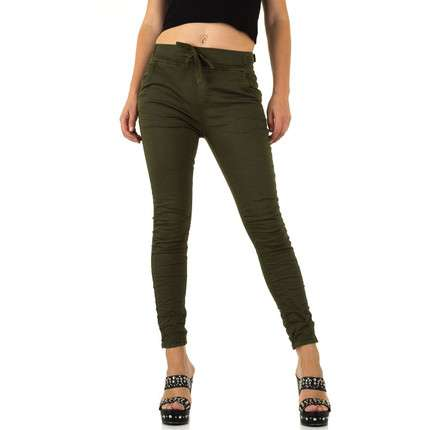 Damen Jeans von Rose Player - khaki