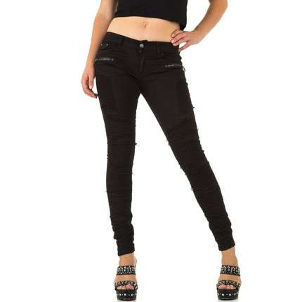 Damen Jeans von Rose Player - black