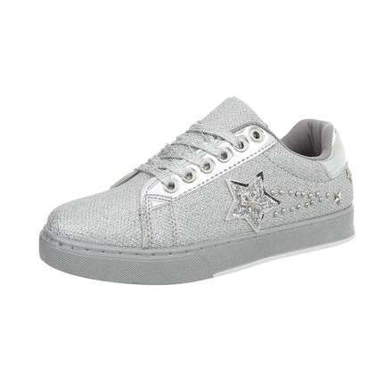Damen Sneakers low - silver