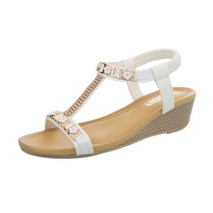 Damen Wedges - white