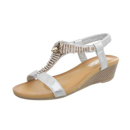 Damen Wedges - silver