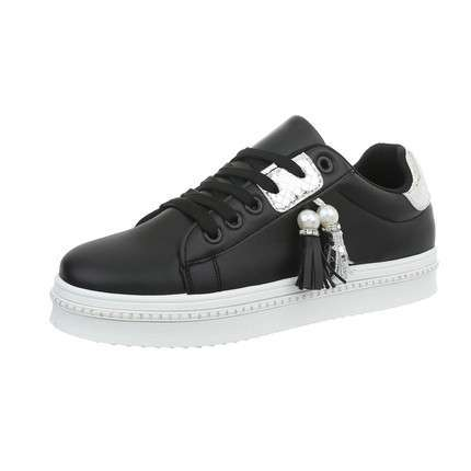 Damen Sneakers low - blackwhite