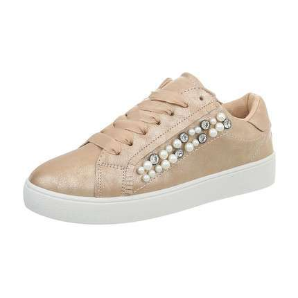 Damen Sneakers low - champagne