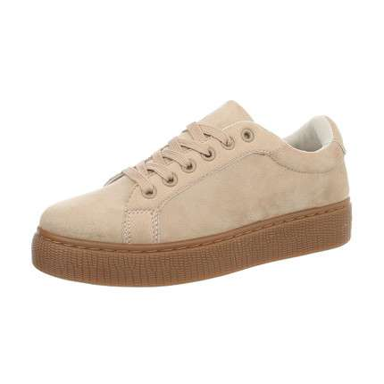 Damen Sneakers low - beige