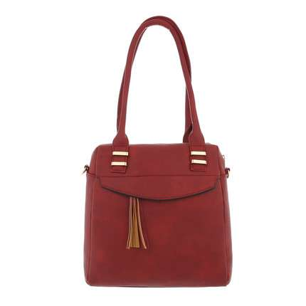 Damen Handtasche-bordeaux