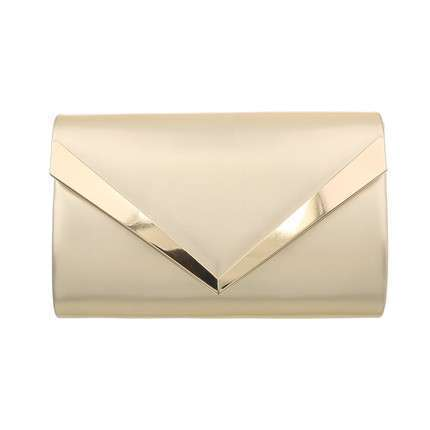 Damen Clutch-L.gold