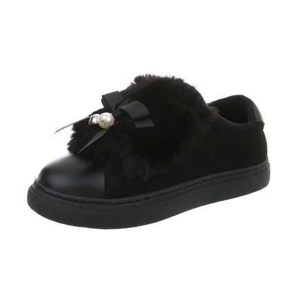 Damen Sneakers low - black
